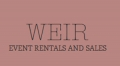 Weir Event Rentals and Sales